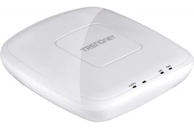 TRENDnet TEW-755AP 300Mbps N300 PoE Wireless Access Point