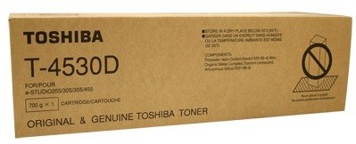 Toshiba T-4530D Black 20000 Pages Yield Photocopier Toner