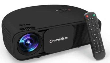 Cheerlux CL760 3200-Lumens Multimedia LCD HD Projector