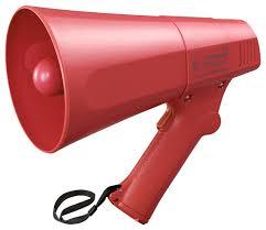 Toa ER-520 Polyimide Diaphragm Speaker Hand Grip Megaphone
