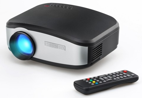 Cheerlux C6 Mini 1200 Lumens Multimedia LCD Projector