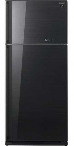 Sharp SJ-PD54P-BK 541 Liter Glass Door Hybrid Refrigerator