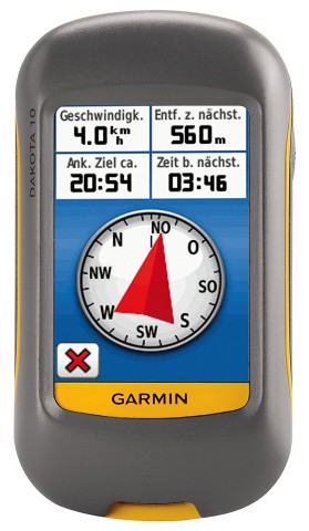 Garmin Dakota 10 Handheld 20-hour Outdoor GPS Navigator