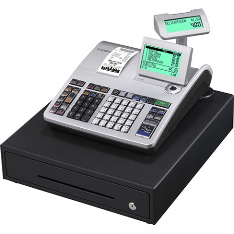 Casio SE-S400 Micro SD Card Slot Cash Register Machine
