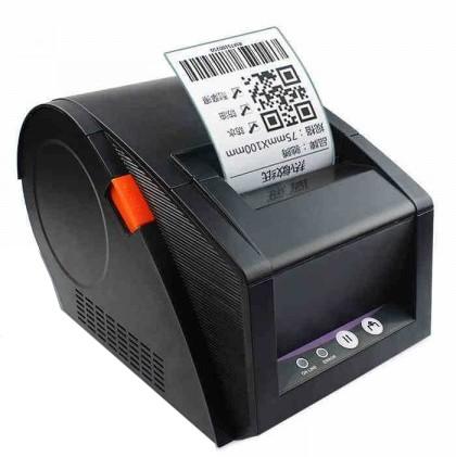 G Printer GP-3120TU 203 dpi USB Mini Barcode Laser Printer