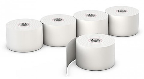 POS Thermal Paper Roll 37 x 40 mm
