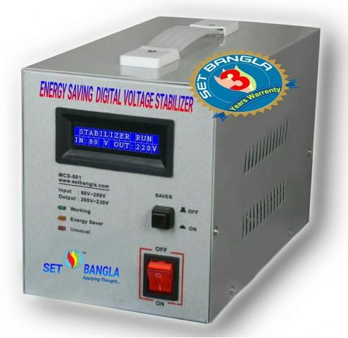 Digital EDS-1500VA Single Phase Voltage Stabilizer