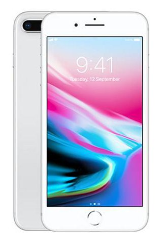 "Apple IPhone 8 Plus Hexa Core 3GB RAM 5.5"" 12MP Dual Camera"
