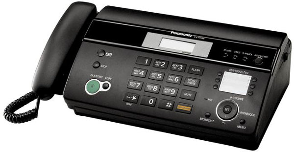 Panasonic KX-FP987 Friendly Reception Thermal Fax Machine