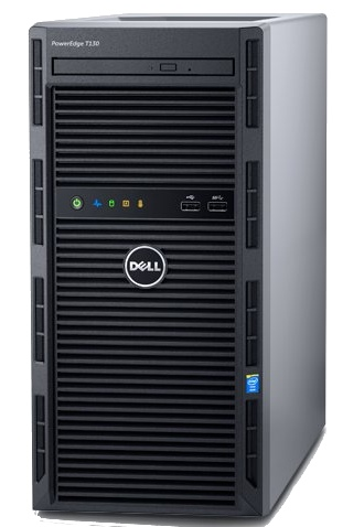 Dell PowerEdge T130 Intel 4 Core Xeon Software RAID Server