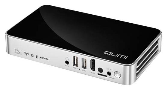 Vivitek Qumi Q3+ WXGA 500 Lumens HD Mini Video Projector