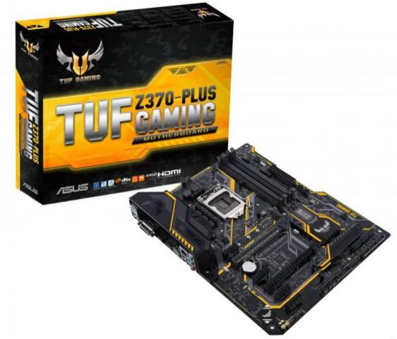 Asus Z370 TUF Plus 8th Gen UEFI DDR4 Gaming Motherboard