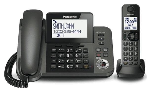 Panasonic Kx Tgf350c Digital Corded Cordless Telephone