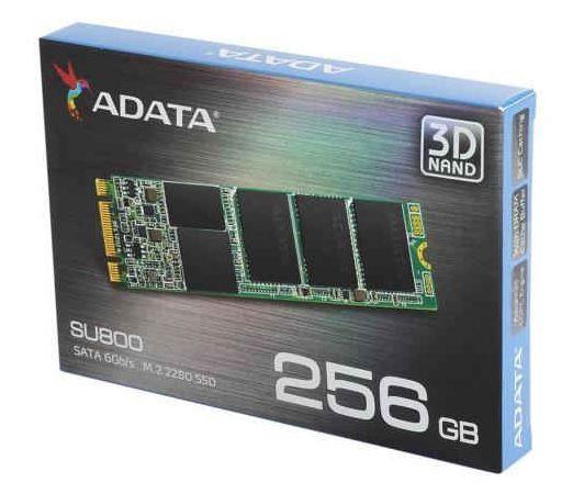 AData SU800 M.2 2280 SATA 256GB 3D NAND Solid State Drive