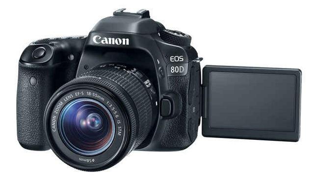 Canon EOS 80D 24.2MP CMOS DIGIC 6 Full HD 3