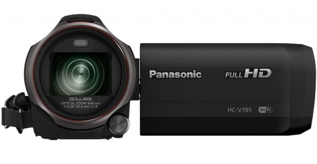 Panasonic HC-V785 6.03MP 1080p 50x Zoom WiFi Camcorder