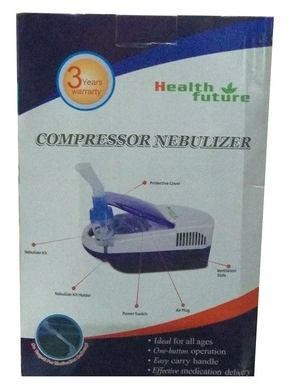 Health Future All Ages Compressor Nebulizer Machine