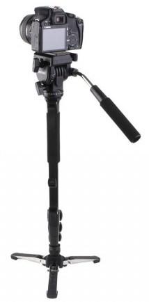 Yunteng VCT-588 Fluid Drag Head Camera Monopod and Tripod