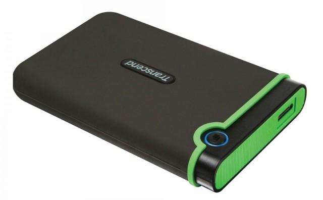 Transcend StoreJet J25M3 4TB USB 3 Portable Hard Disk Drive