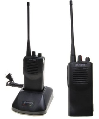Kenwood TK-3107 UHF Handheld 2-Way Radio Walkie-Talkie