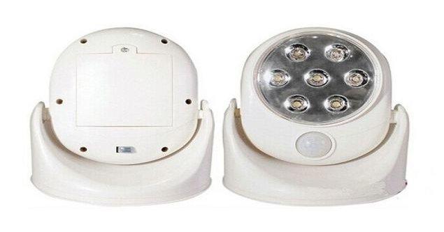 Motion Sensor Light 7 Super Bright LED Adjustable Angle