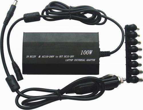 Universal AC Power 100 Watt 8-Port Laptop Adapter
