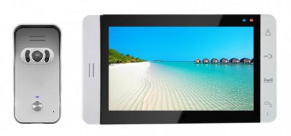 Wireless Video Door Phone DP-705RW Auto IR LCD Screen