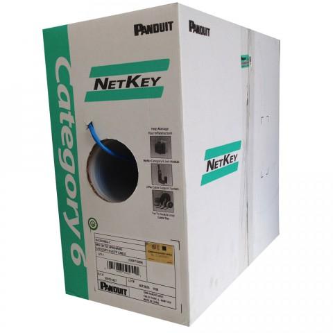 Panduit NetKey NUC6C04BU-C 305M UTP CAT-6 LAN Cable