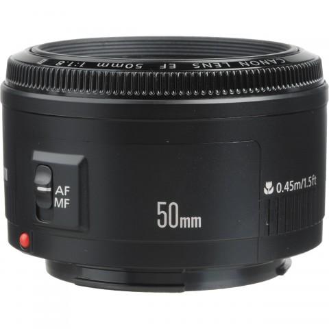 Canon EOS EF 50mm f/1.8 II Prime Lens for DSLR Camera