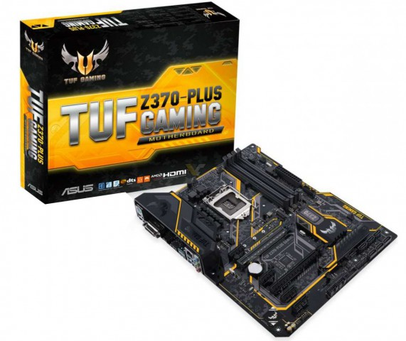 Asus TUF Z370-Plus DDR4 ATX LGA 1151 Gaming Motherboard