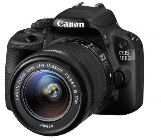 Canon EOS 100D 18MP 22.3 x 14.9mm Lens Digital SLR Camera