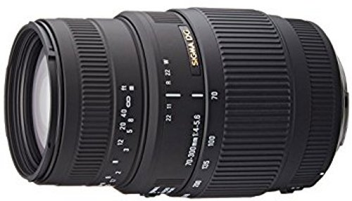 Sigma 70-300mm F4-5.6 DG Macro DSLR Camera Lens