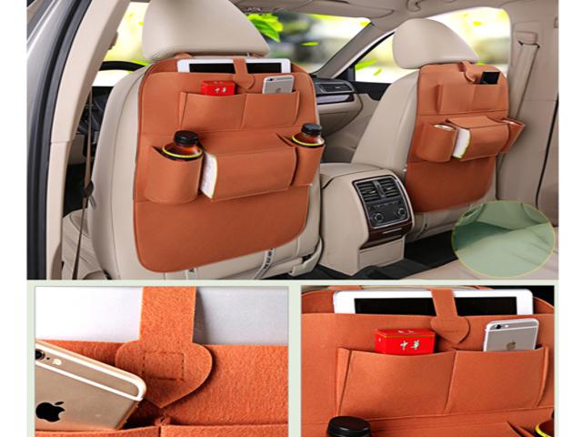 Car Multi Pocket-Seat Organizer Waterproof Fabric