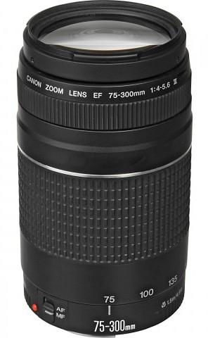 Canon EF 75-300mm f/4-5.6 III DSLR Camera Lens