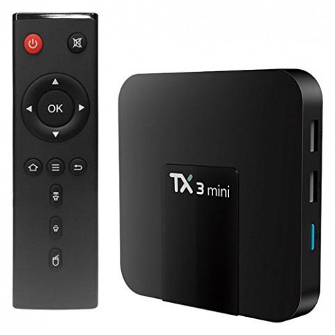 Tanix TX3 Mini 4K Quad Core Rockchip Android Internet TV Box