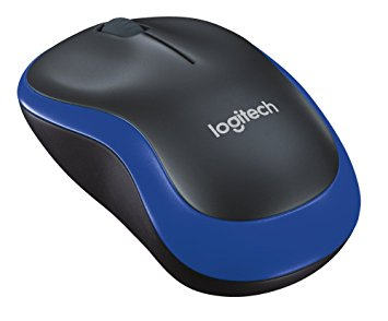 Logitech M-185 Nano Receiver Wireless Optical Mouse