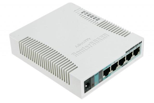 Mikrotik RB951Ui-2HnD 5 Ports 128MB RAM Wi-Fi AP Router