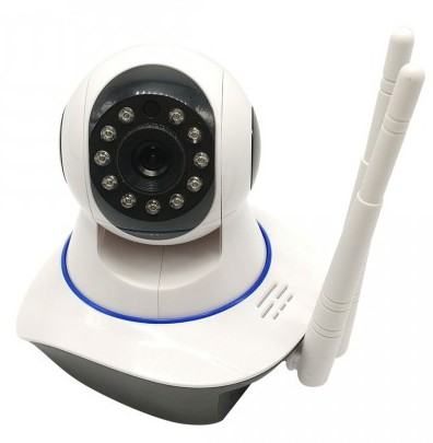 WiFi IP V380 2MP 720p HD 355° Night Vision CC Camera