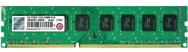 Transcend Desktop PC RAM 1GB DDR2 800 MHz BUS Speed