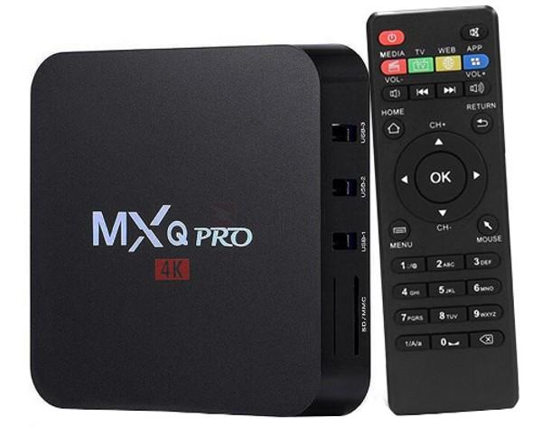 MXQ Pro 4K Quad Core 2GB RAM 8GB ROM Android TV Box