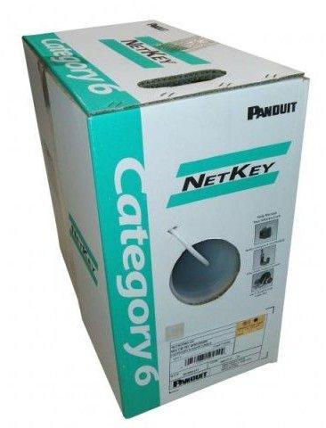 Panduit NetKey NUC6C04BU-C 305M CAT-6 Network Cable