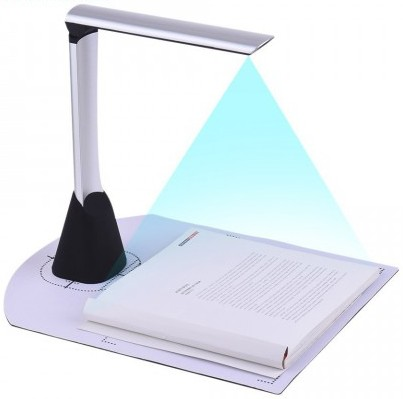 Document and Passport Scanner 10MP OCR Function Support