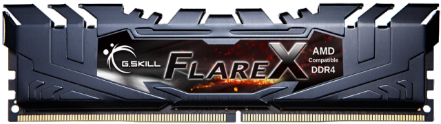 G.SKILL Flare X 8GB 3200 MHz BUS DDR4 Desktop RAM