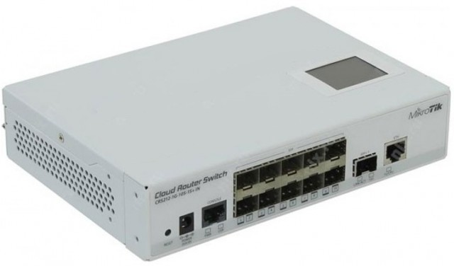 Mikrotik CRS212-1G-10S-1S+IN Cloud Router Gigabit Switch