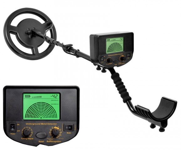 Professional Underground Metal Detector With Folding Shove