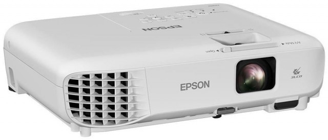 Epson EB-S05 SVGA 3200 Lumens Multimedia Video Projector