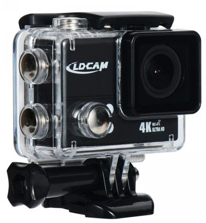 LD Cam PRO4 Plus WiFi 4K 20MP Ultra HD Action Camera