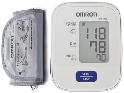 Omron Hem-7120 Automatic Digital Blood Pressure Machine