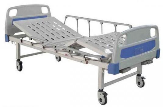 Hospital Bed 2 Crank Detachable ABS Head / Foot Board