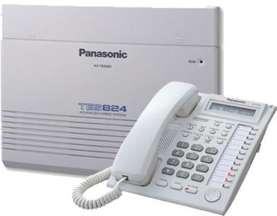 Panasonic KX-TES824 16-Lines Caller ID display PABX Machine